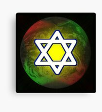Star of David Canvas Print