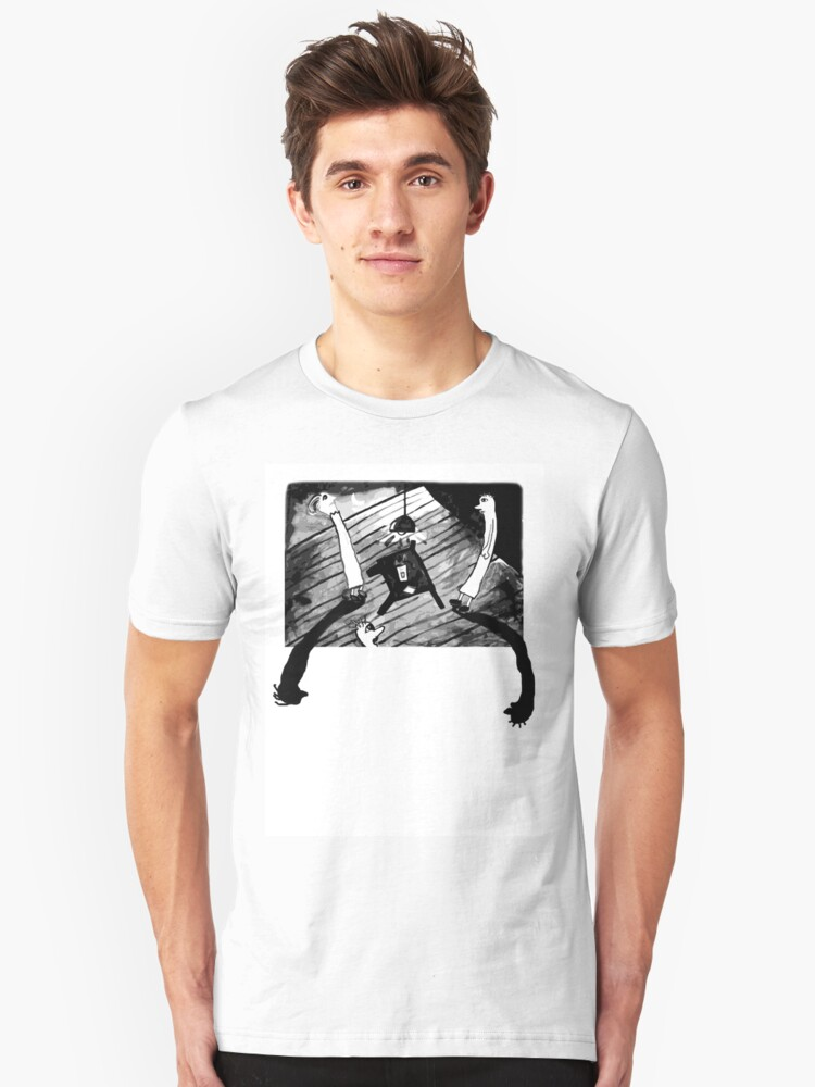 Shadowy Goings On Unisex T-Shirt Front