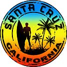 Surfing Santa Cruz California Surf Surfboard Waves Surfer by MyHandmadeSigns