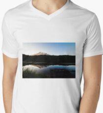 Reflections Lake - Mt Rainier National Park Men's V-Neck T-Shirt