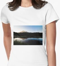 Reflections Lake - Mt Rainier National Park Women's Fitted T-Shirt