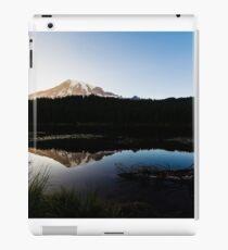 Reflections Lake - Mt Rainier National Park iPad Case/Skin