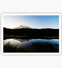 Reflections Lake - Mt Rainier National Park Sticker