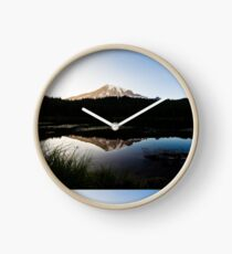 Reflections Lake - Mt Rainier National Park Clock