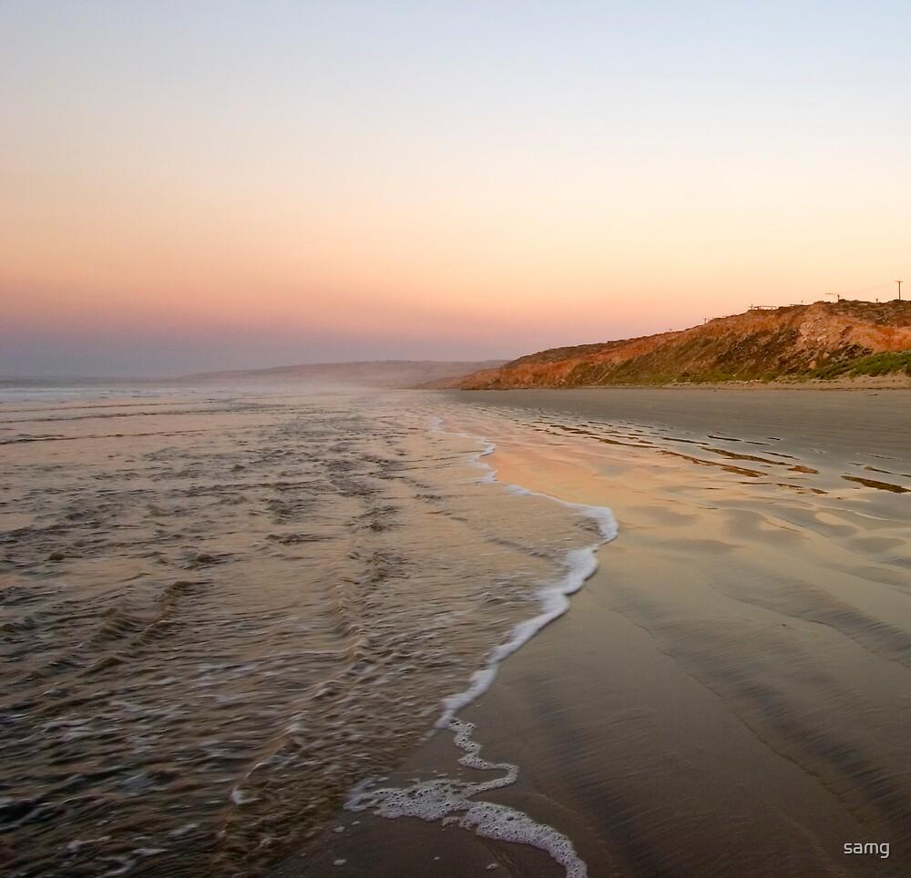 Sunrise over Middleton Beach II by samg