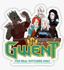 Do you want play GWENT? Sticker