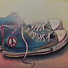 Still life of CND trainers by Andy  Housham