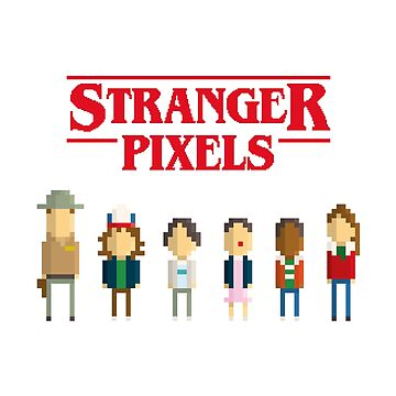 Stranger things - Pixel serie by alexlaunay