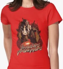 Invaders from Mars Womens Fitted T-Shirt