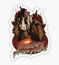 Invaders from Mars Sticker