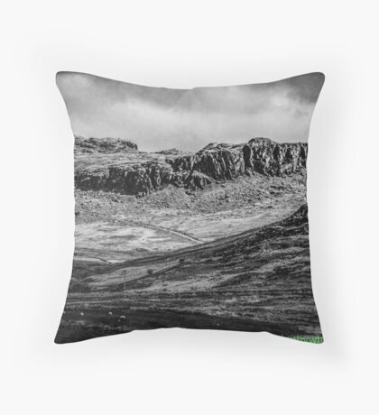 Snowdonia 1 By Whacky Throw Pillow