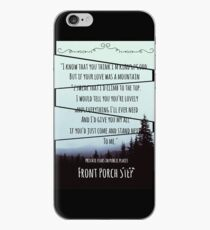 Front Porch Step iPhone Case