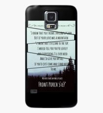 Front Porch Step Case/Skin for Samsung Galaxy