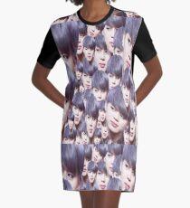 Judgemental Jimin Graphic T-Shirt Dress