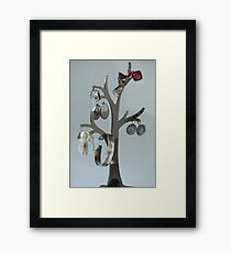 precious tree with Jewels Framed Print