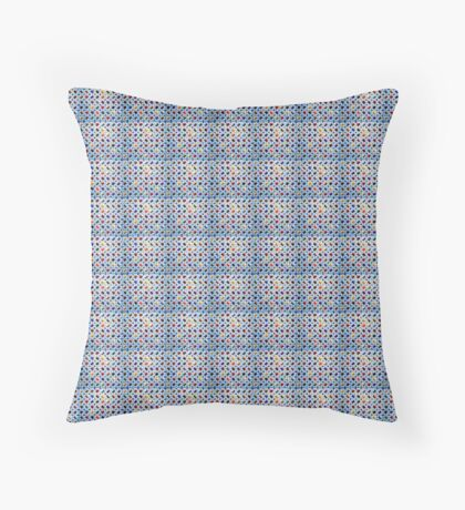 autumn leafs pattern Throw Pillow