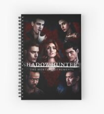 Shadowhunters - Poster #1 Spiral Notebook