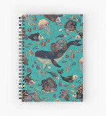 Deep into the ocean Spiral Notebook