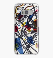 Vasily Kandinsky Lithograph for the Fourth Bauhaus Portfolio Samsung Galaxy Case/Skin
