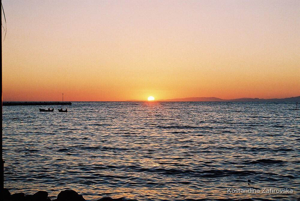 sunset  by Kostandina Zafirovska