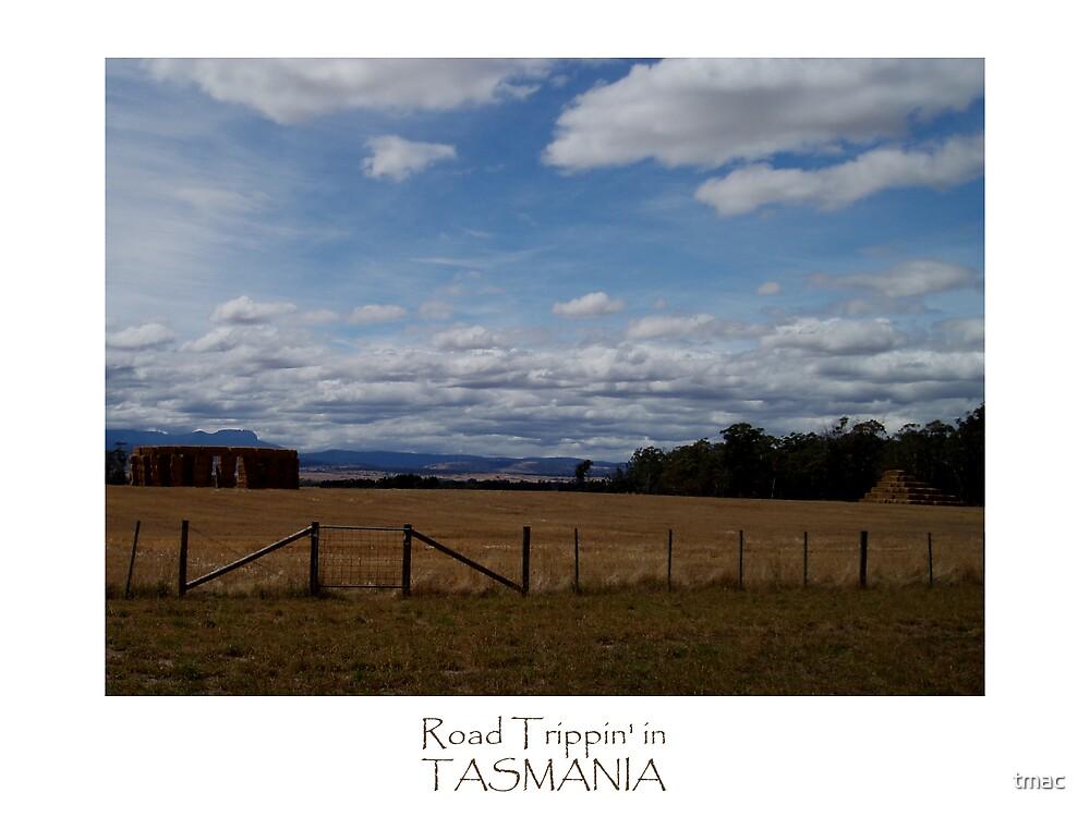 Tasmania - Along The Road - Stone Henge Pyramid by tmac