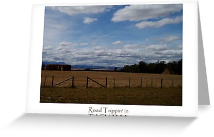 Tasmania - Along The Road - Stone Henge Pyramid by tmac