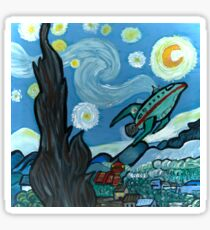 Starry Flight Sticker
