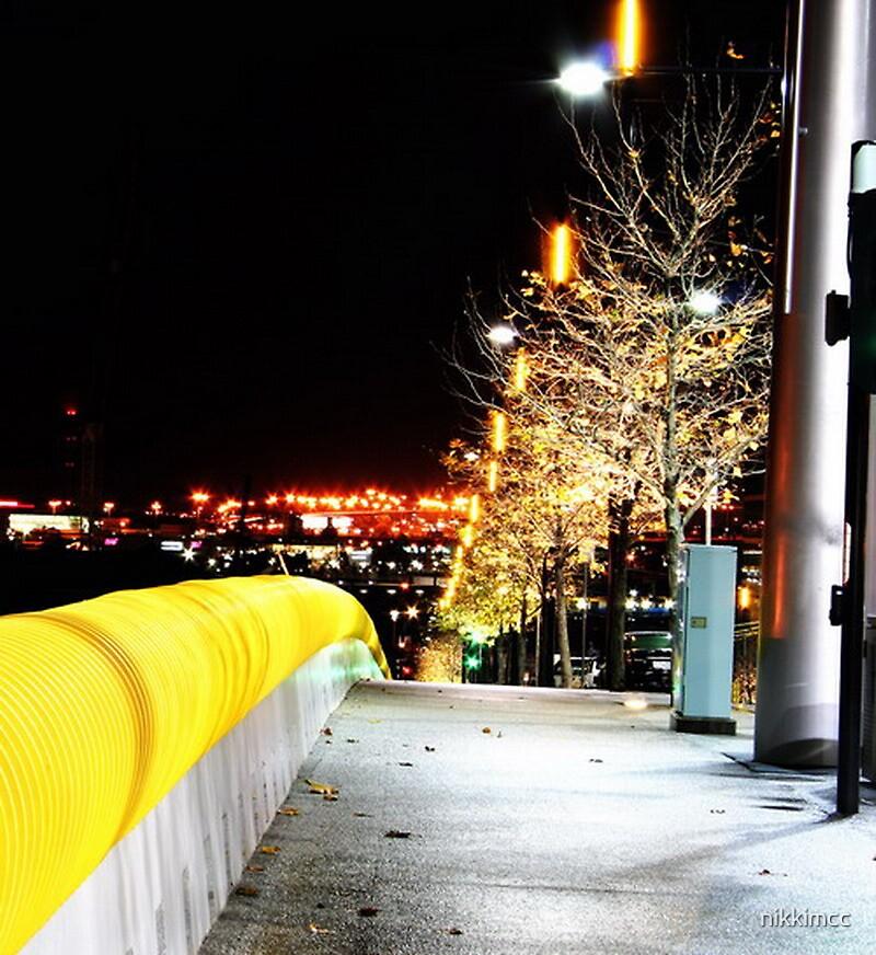 Melbourne Night Lights by nikkimcc