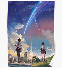 Kimi No Na Wa Poster Poster