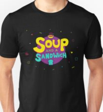 Soup and a Sandwich Slim Fit T-Shirt