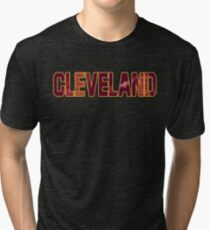 CLEVELAND (Cavaliers) Tri-blend T-Shirt