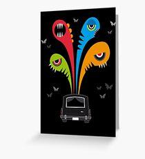 ghouls Greeting Card