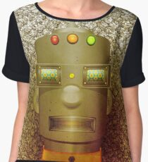 Cool Robot Chiffon Top