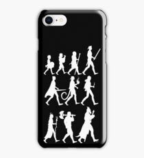 RPG Races Chart - White iPhone Case/Skin