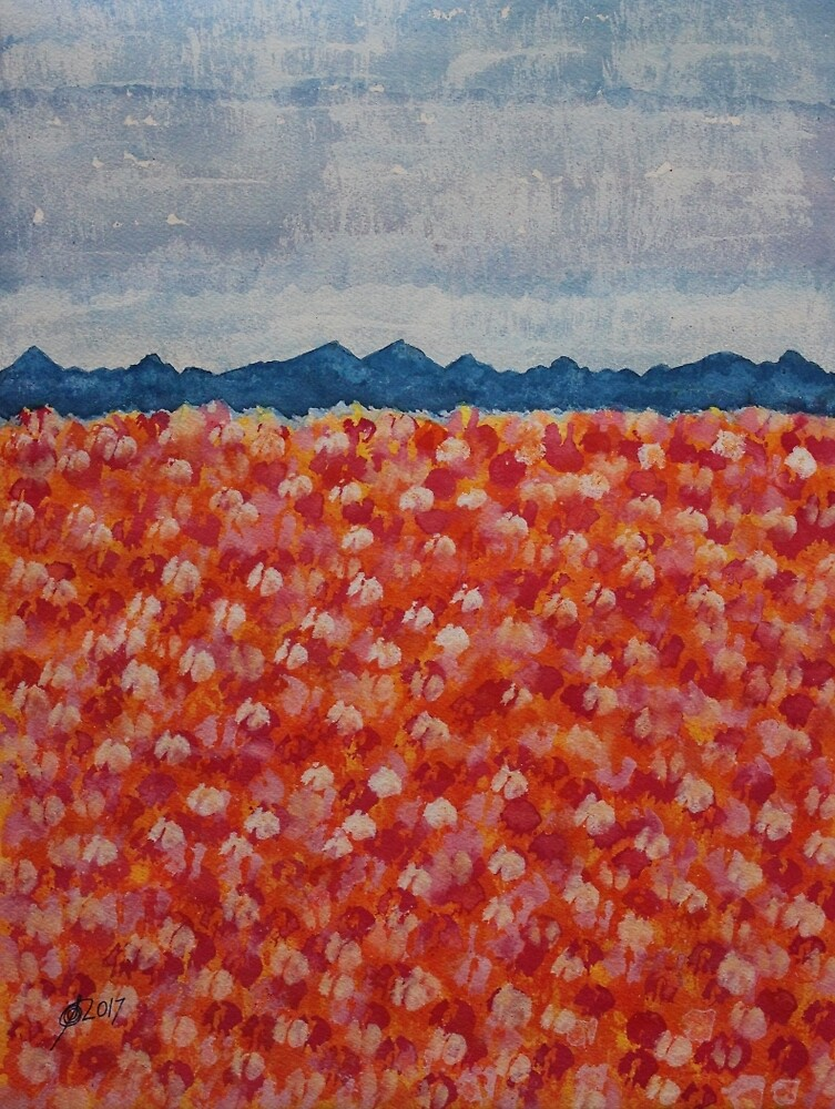 Blossomtime original painting by Sol Luckman
