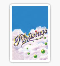 PILOTWINGS SNES EXTENDED ARTWORK Sticker