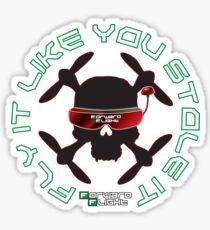 Fly It Like You Stole It! Sticker