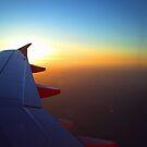 sun set rising by michael hogarth