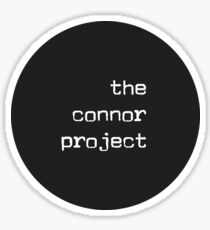 The Connor Project Sticker