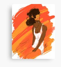 My Hair Canvas Print