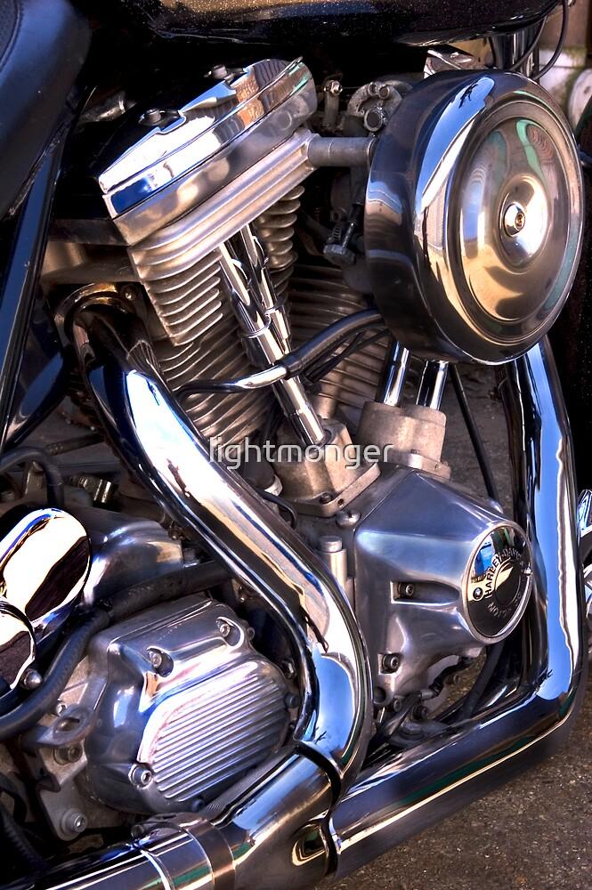 Bike Engine  Harley V  by lightmonger