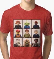 Portrait Collection 1 Tri-blend T-Shirt