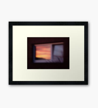 A Day At The Arboretum #6 - Reflection Framed Print