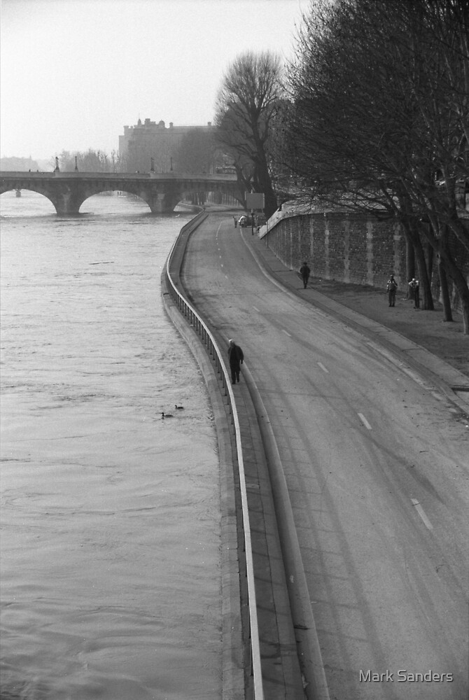 By the Seine, Paris 1999 by Mark Sanders