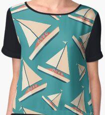 Sailing Yacht Women's Chiffon Top
