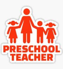 Preschool teacher Sticker