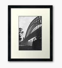 Under the Sydney Harbour Bridge Framed Print