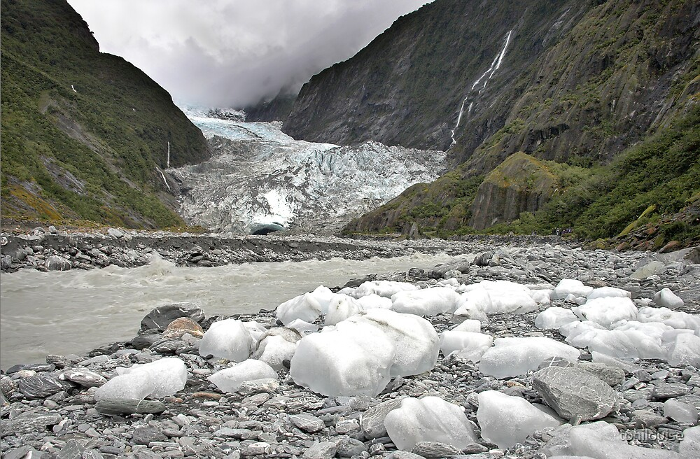 Pieces of The Glacier by tonilouise
