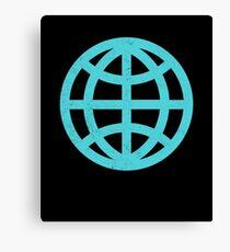 Planet Earth Globe Canvas Print