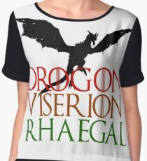 Game of Thrones: Dragons Women's Chiffon Top